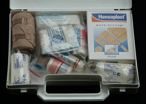 First Aid Kit - Car & Van Hire London at Go Rental