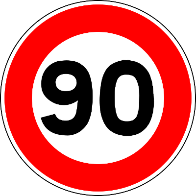 90 Speed Limit - Car & Van Hire London at Go Rental