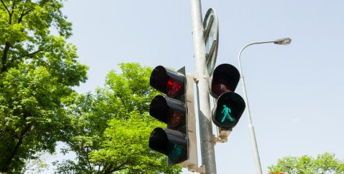 Traffic Lights - Car & Van Hire London at Go Rental