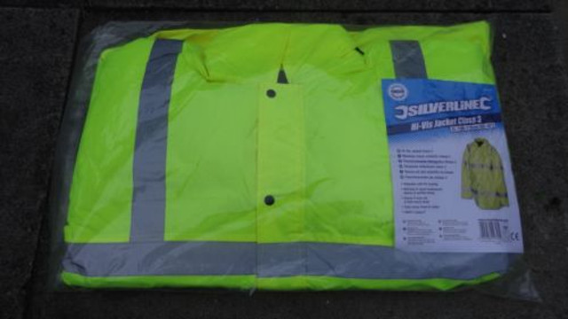 Reflective Jacket - Car & Van Hire London at Go Rental