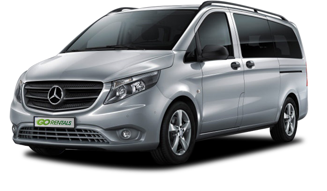 Mercedes Vito Tourer 9 Seater to hire